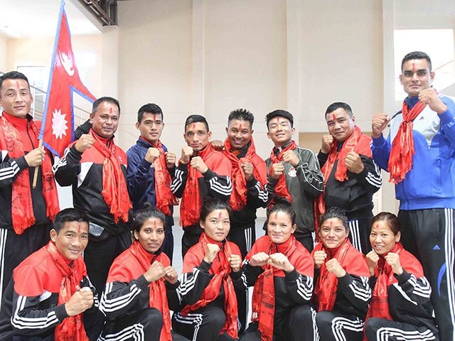 Nepali boxers all set for Indian Open