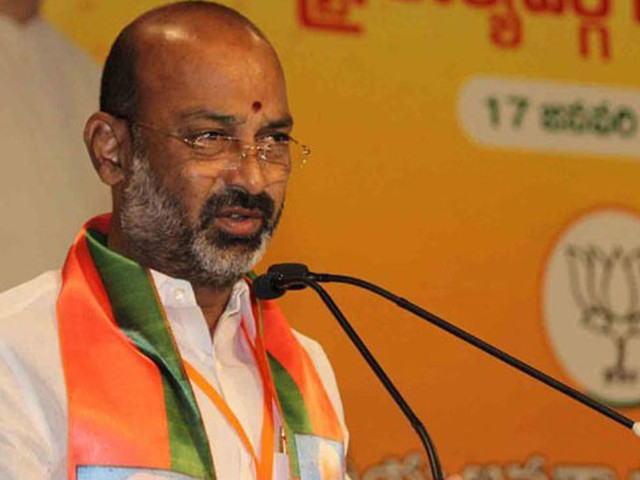 BJP will force Government to buy Paddy: Bandi Sanjay