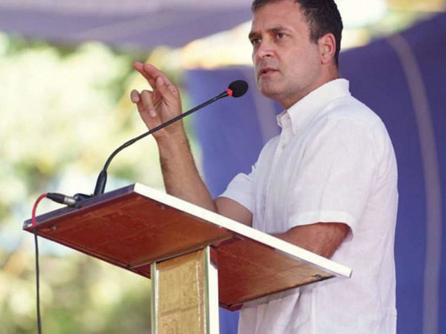 Sangh teaches to attack, non-violent satyagraha makes farmers fearless: Rahul Gandhi