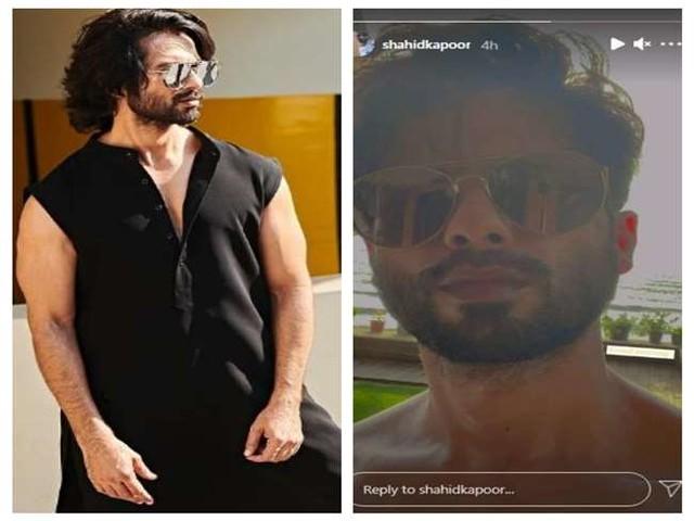 Shahid Kapoor ने शर्टलेस फोटो शेयर कर फैंस को विश की 'गुड मॉर्निंग'