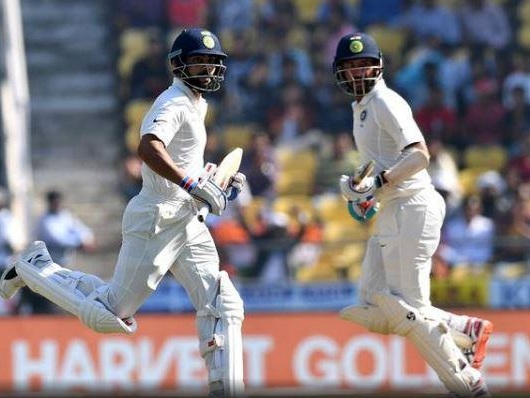 Test cricket: Vijay hits fifty as India reach 116/2 at lunch on Day 1