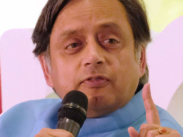Tharoor, Dubey again at loggerheads after Congress MP questions companies advertising on 'toxic' channels