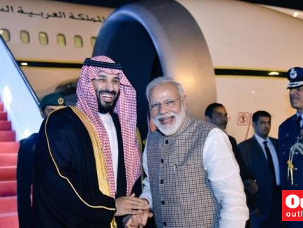 Saudi Crown Prince Mohammed Bin Salman Arrives In India, Received By PM At Airport