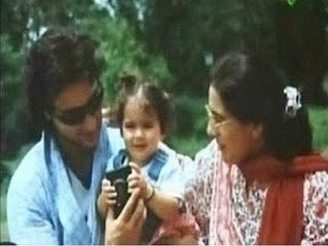 Childhood pic: Sara Ali Khan with parents