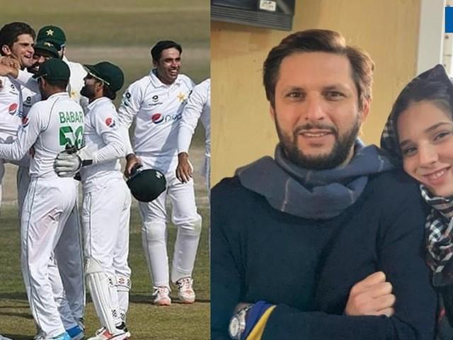 शाहिद आफ्रिदीच्या मुलीनं पाकिस्तानच्या क्रिकेटपटूला केलं 'क्लीन बोल्ड'