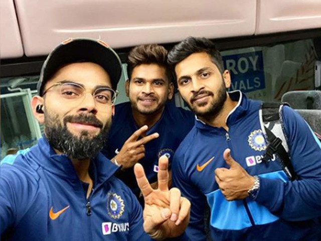 India vs New Zealand: Team India arrives in Auckland