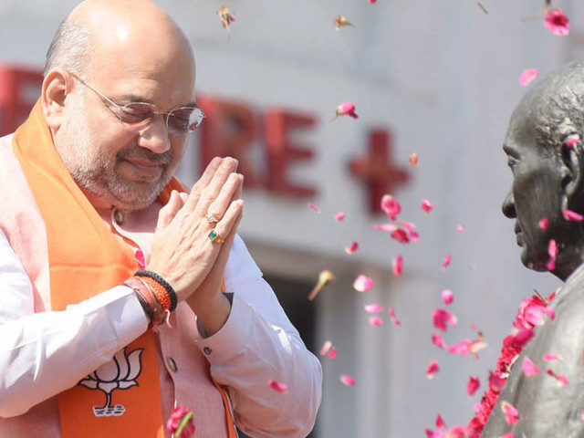 Amit Shah talks to Assam, Mizoram Chief Ministers for Peace at Inter-state Border