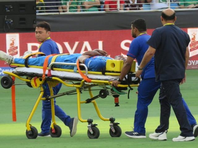 एशिया कप : हार्दिक पंड्या को स्ट्रेचर पर मैदान से बाहर ले जाया गया