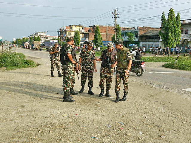 Partial effects of Nepal Bandh felt in Rauthat, NA defuses tiffin bomb