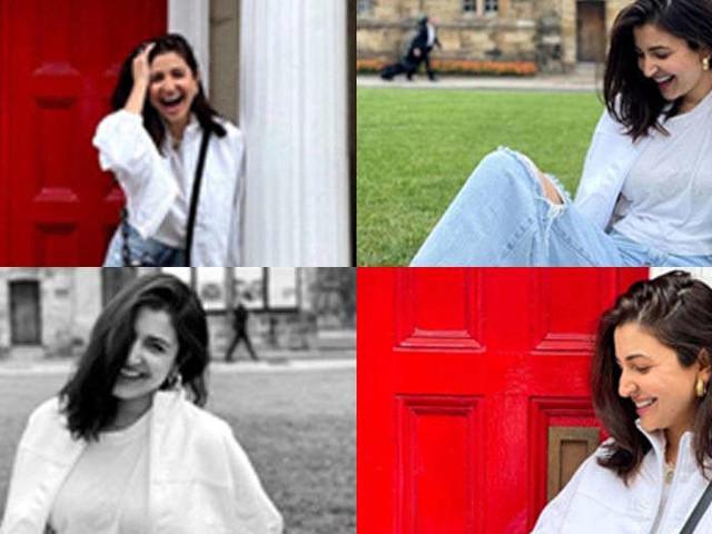 Anushka Sharma and Athiya Shetty spend time together in England
