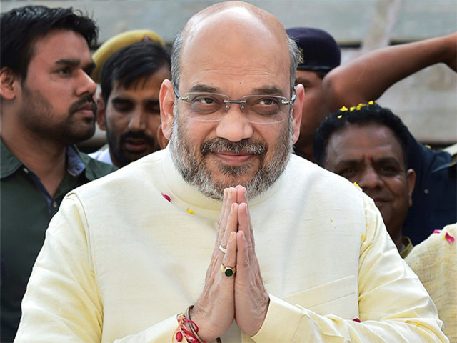 Amit Shah slams Rahul Gandhi on dynastic politics