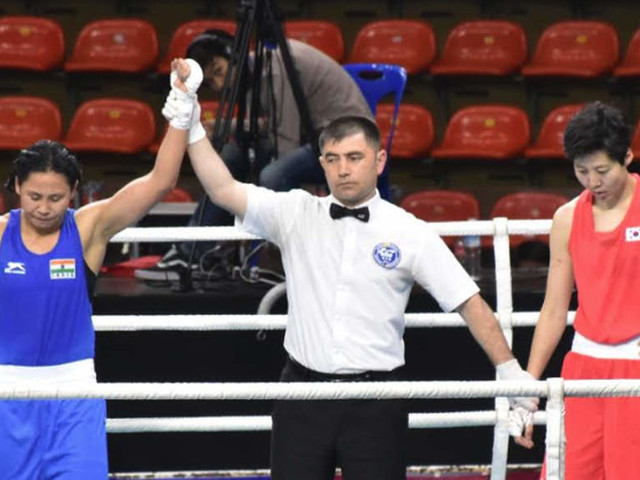 Asian Boxing: Shiva, Sarita, Amit among five Indian boxers to reach quarters