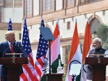 Trump praised for raising issue of religious freedom in India