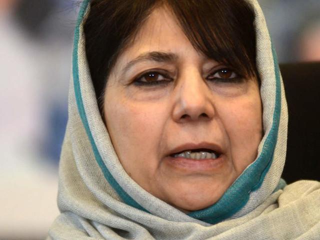 Mehbooba Mufti calls local militants 'sons of soil'; asks Centre to engage Jammu & Kashmir militant leadership