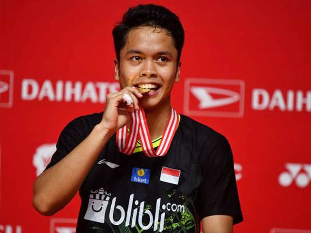 Hometown hero Ginting nabs Indonesia Masters title with comeback win