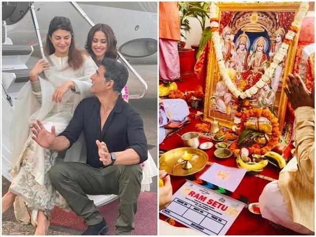 Ram Setu: Akshay starts shoot with pooja