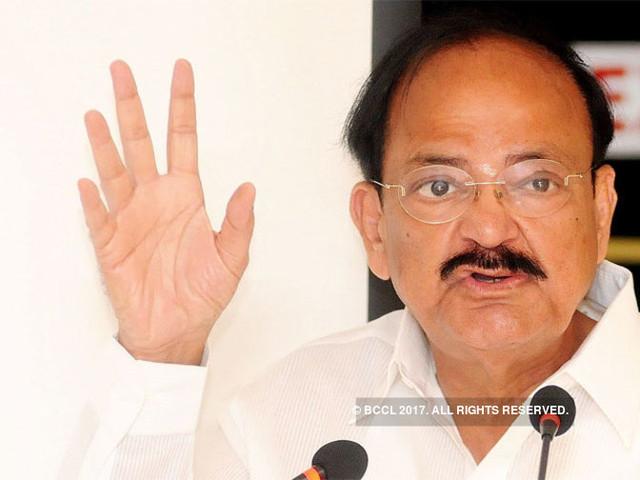 Don't say 'beg', we are a free nation: Venkaiah Naidu