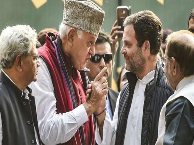 जम्मू-कश्मीर में कांग्रेस-नेशनल कांफ्रेंस के बीच 'आधा अधूरा' गठजोड़
