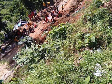Local govt to support families of Sindhupalchok bus accident victims