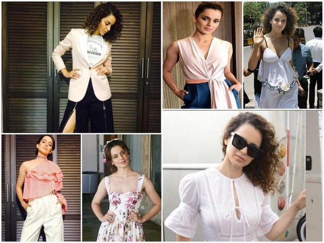 Simran promotions: Kangana's fashionable side