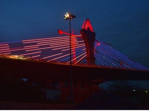 Durgam Cheruvu bridge to dazzle Hyderabad