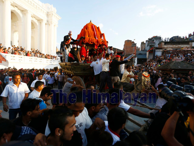 Indra Jatra being marked today with much fervour