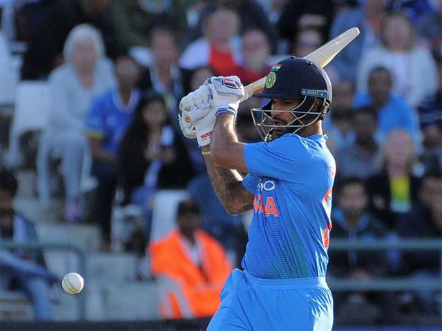 3rd T20I: Dhawan, Raina guide India to 172