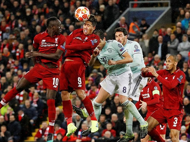 Solid and smart Bayern holdLiverpoolat Anfield