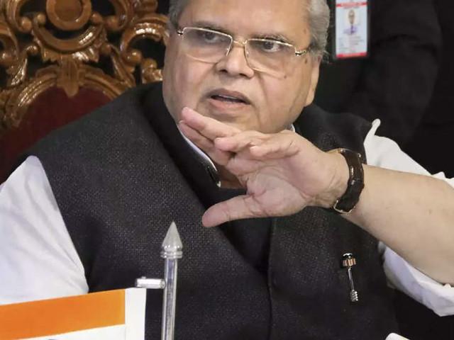 Satya Pal Malik says NC, PDP refused to participate in J-K polls; Omar hits back