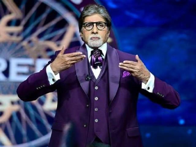 KBC 13: एक जमाने में खाना खाकर दाढ़ी से मुंह पोंछ लेते थे अमिताभ बच्चन, देखें बिग बी का ये मजेदार वीडियो