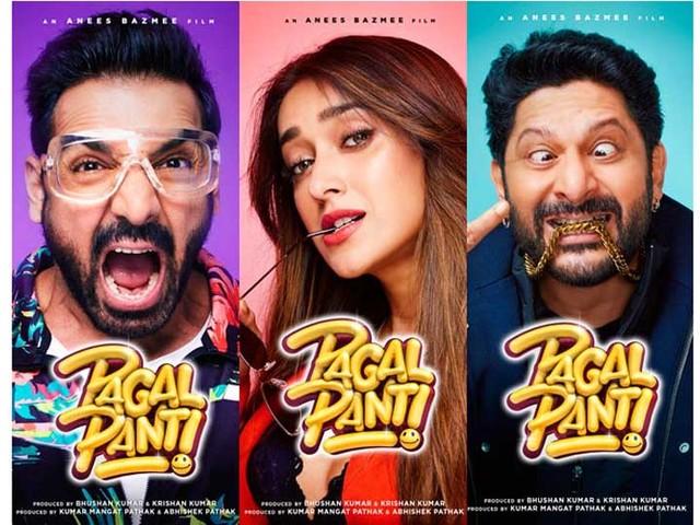 Pagalpanti Movie Poster : 'पागलपंती' चा पोस्टर रिलिज,पहिल्यांदाच एकत्र दिसणार 'ही' जोडी