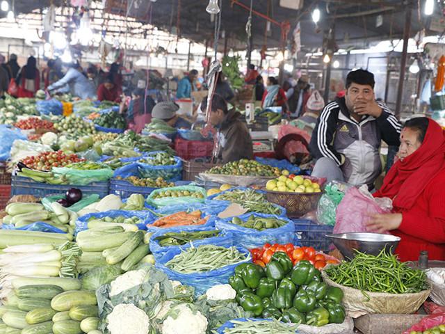 Veggie prices going down slightly