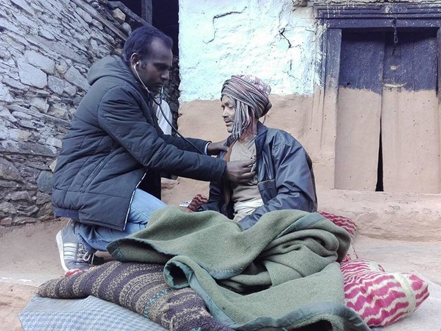 Health workers reach disease-affected areas