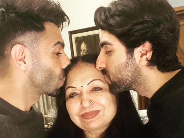 Ayushmann Khurrana and Aparshakti Khurrana have the sweetest birthday wish for their mother