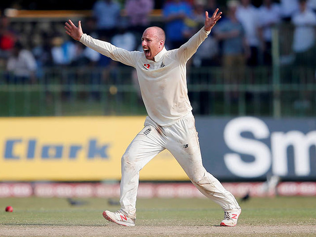 Leach takes five wickets as nervous England near victory
