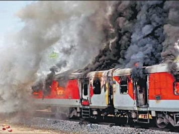 Are our trains safe from fire mishaps?