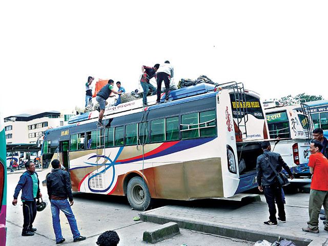 Booking of bus tickets for Dashain opens