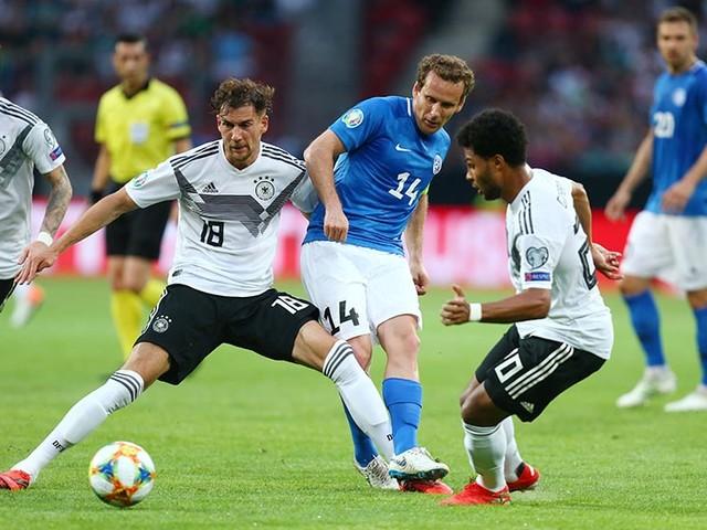 Germanycrush Estonia 8-0, Northern Ireland earn late win