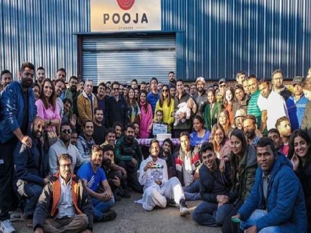 Akshay Kumar और रकुल प्रीत सिंह ने 'प्रोडक्शन 41' का किया रैप अप, तस्वीर शेयर कर जाहिर की खुशी
