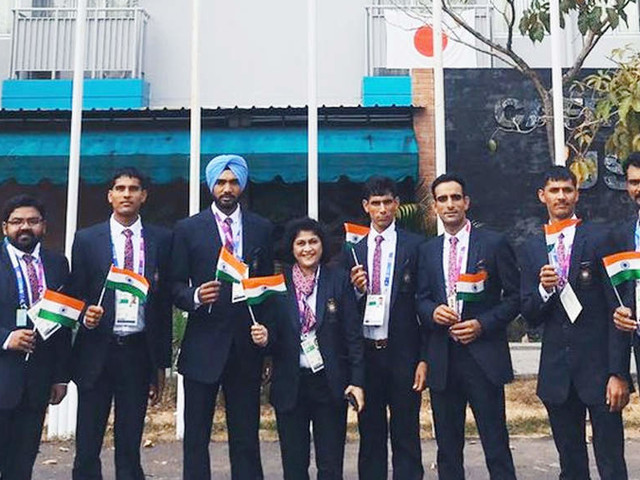 Indian flag hoisted at Asiad Village on Independence Day