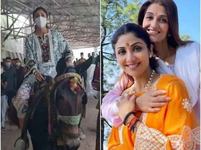 माता वैष्णो देवी के दर्शन कर वापस लौटीं शिल्पा शेट्टी हुईं ट्रोल, यूजर्स बोले- पति अश्लील फिल्में बनाए, पत्नी माफी मांगे