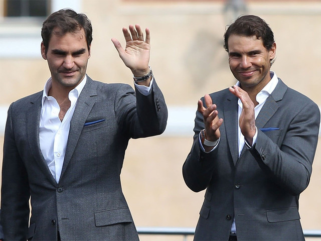 Federer, Nadal happy to play doubles, Borg to decide