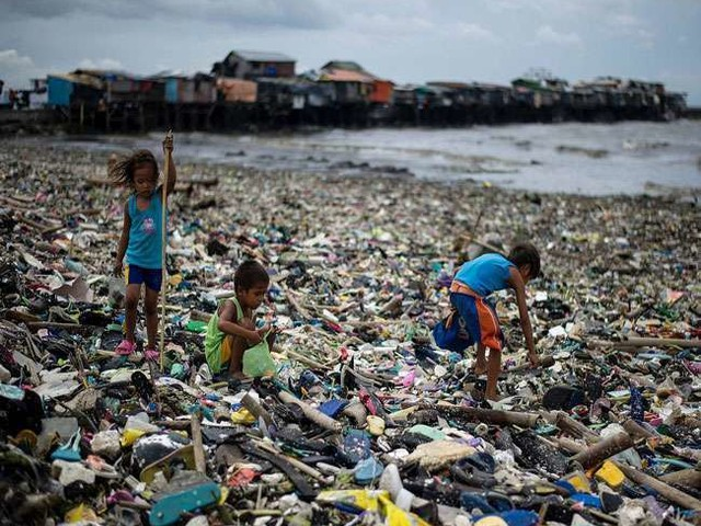 Plastic Pollution News: धरती पर पर्यावरण की भयावह समस्या पैदा कर रहा प्लास्टिक कचरा
