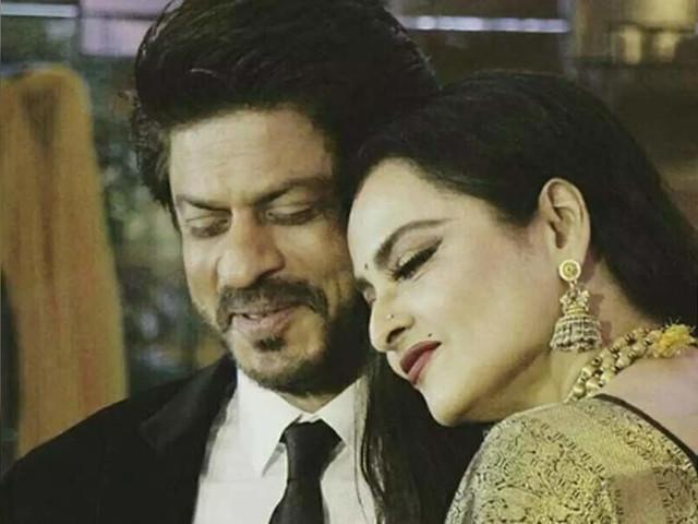 When Rekha used a Shayari to describe SRK