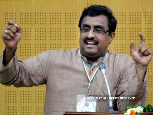 Doklam not over yet, India needs to end 'romantic' foreign policy: Ram Madhav
