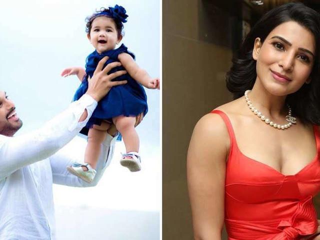 She was born to be a rockstar - Samantha on Allu Arjuns daughter Allu Arha