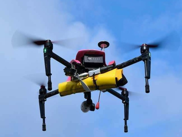 ड्रोन के लिए आइआइटी मद्रास ने विकसित की नई पद्धति, अंतरिक्ष स्टेशन व राकेटों में आग के अध्ययन में मिलेगी मदद