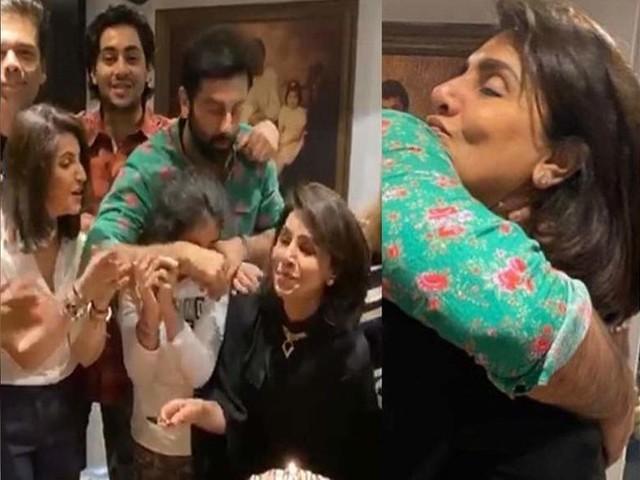 Neetu's birthday pics featuring Ranbir & KJo