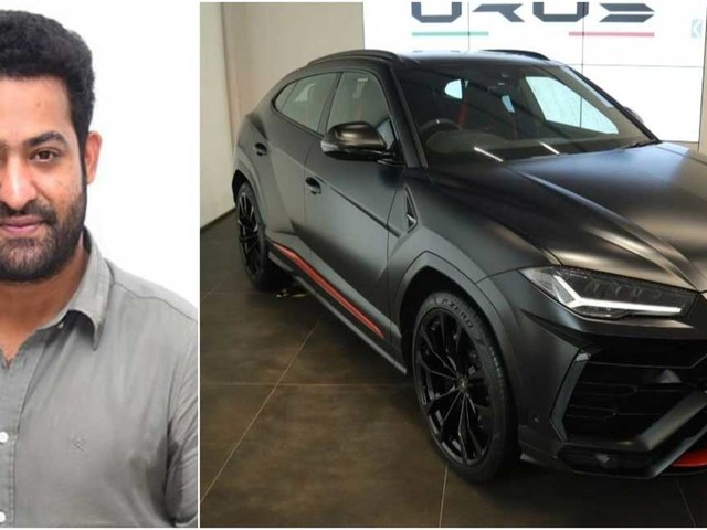Actor Jr NTR pays whopping Rs 17 lakh for car number