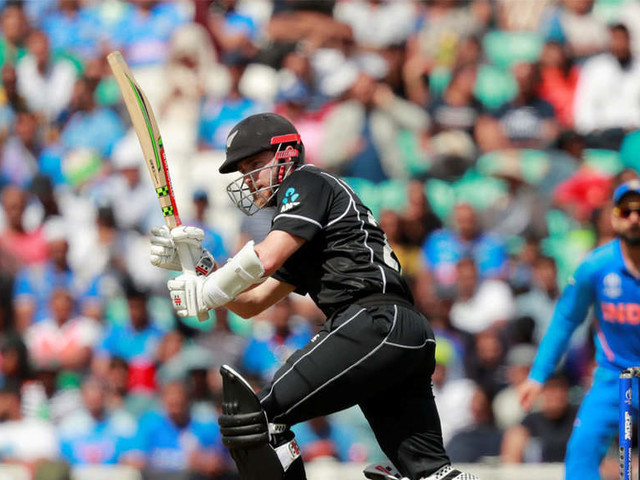 India v NZ Live: Taylor, Williamson rebuild NZ